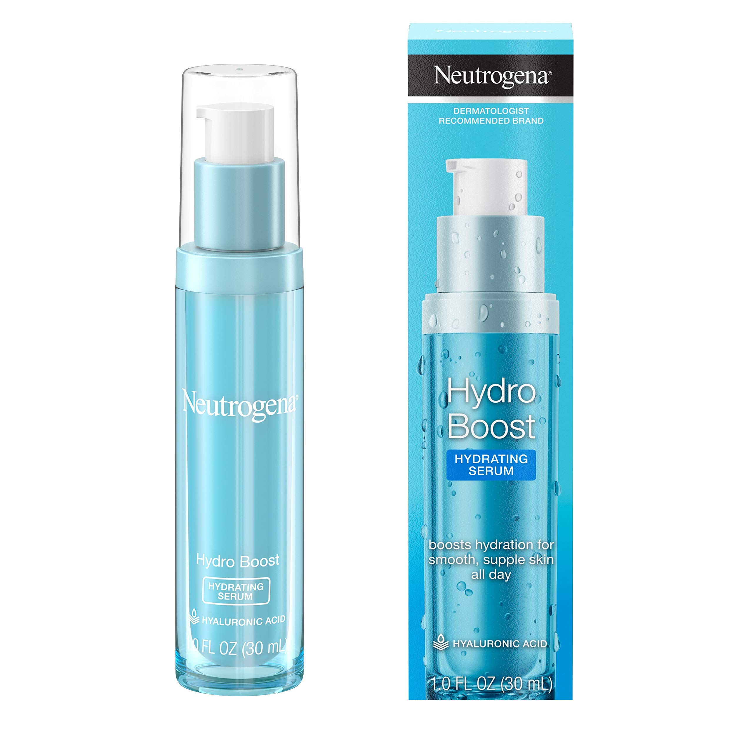 Neutrogena Hydro Boost Hydrating Hyaluronic Acid Serum Oil Free And Non Comedogenic Face Serum Formula For Glowing Complexion Oil Free Non Comedogenic 1 Fl Ounce Buy Online In Dominica At Dominica Desertcart Com Productid 34335399