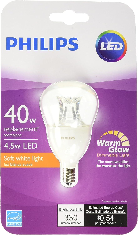 Philips 457168 40 W equivalente Blanco suave A15 Ventilador ...
