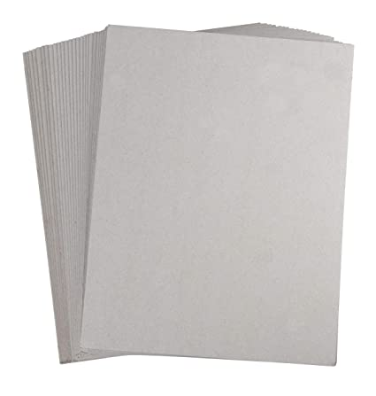 Amazon Com Chipboard Sheets 100 Pack Chip Boards Cardboard