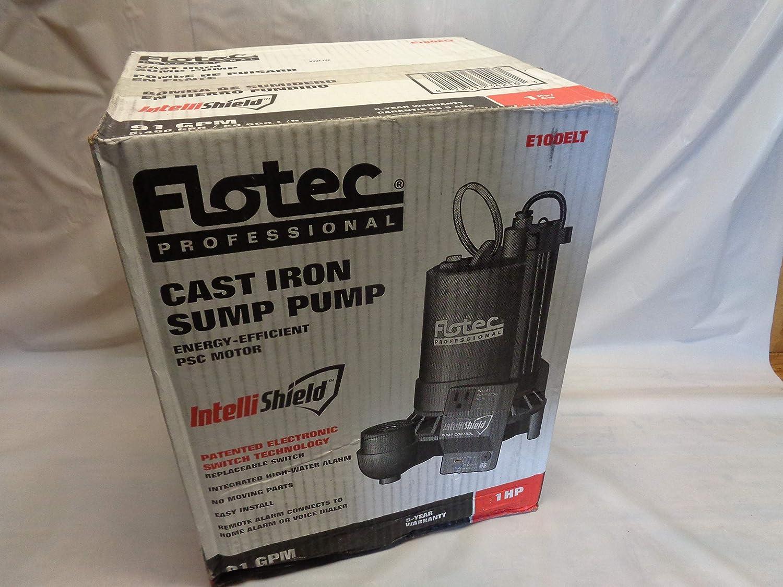 Flotec E100ELT 1 HP Electronic Sump Pump