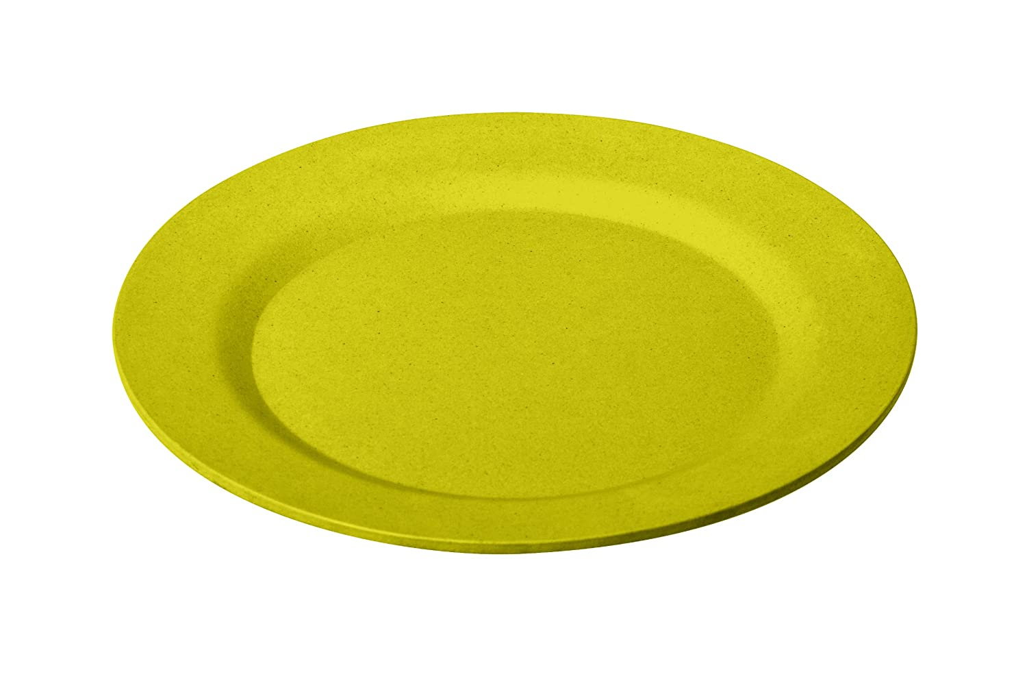 Living Eco 15 cm Dining Bamboo Round Bowl Yellow