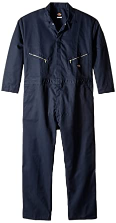 f644f69328 Amazon.com  Dickies Men s Deluxe Long Sleeve Blended Coverall Big ...