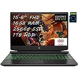 "HP Pavilion 15 Premium Gaming Laptop AMD Hexa-Core Ryzen 5 4600H (>I7-9750H) 15.6"" FHD Display 16GB DDR4 256GB SSD 1TB…"