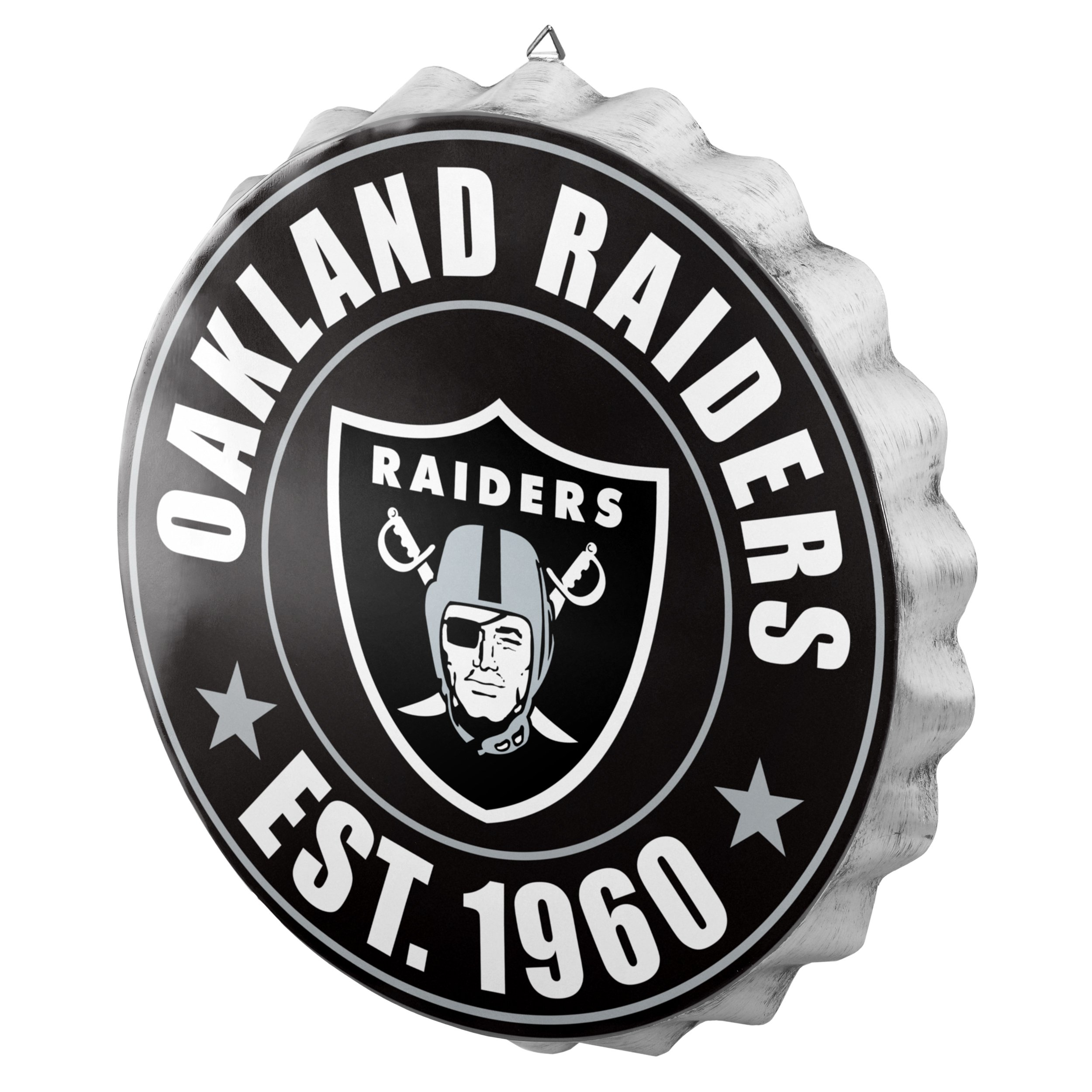 Oakland Raiders 2016 Bottle Cap Wall Sign by FOCO