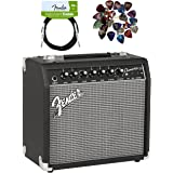 Fender Champion 20 Guitar Amplifier Bundle with Instrument Cable