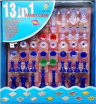 MI RINCON Juego DE Mesa Familiar 13 EN 1, IMANTADO: Amazon.es: Juguetes y juegos