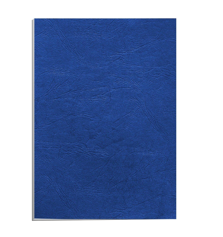 Fellowes valeur Couvertures leatherboard A4–Bleu (Lot de 100) 6501101 BB58507