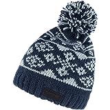 46a7dabedd4 Regatta Mens   Womens Ladies Sleet Fleece Lined Wool Bobble Beanie Hat