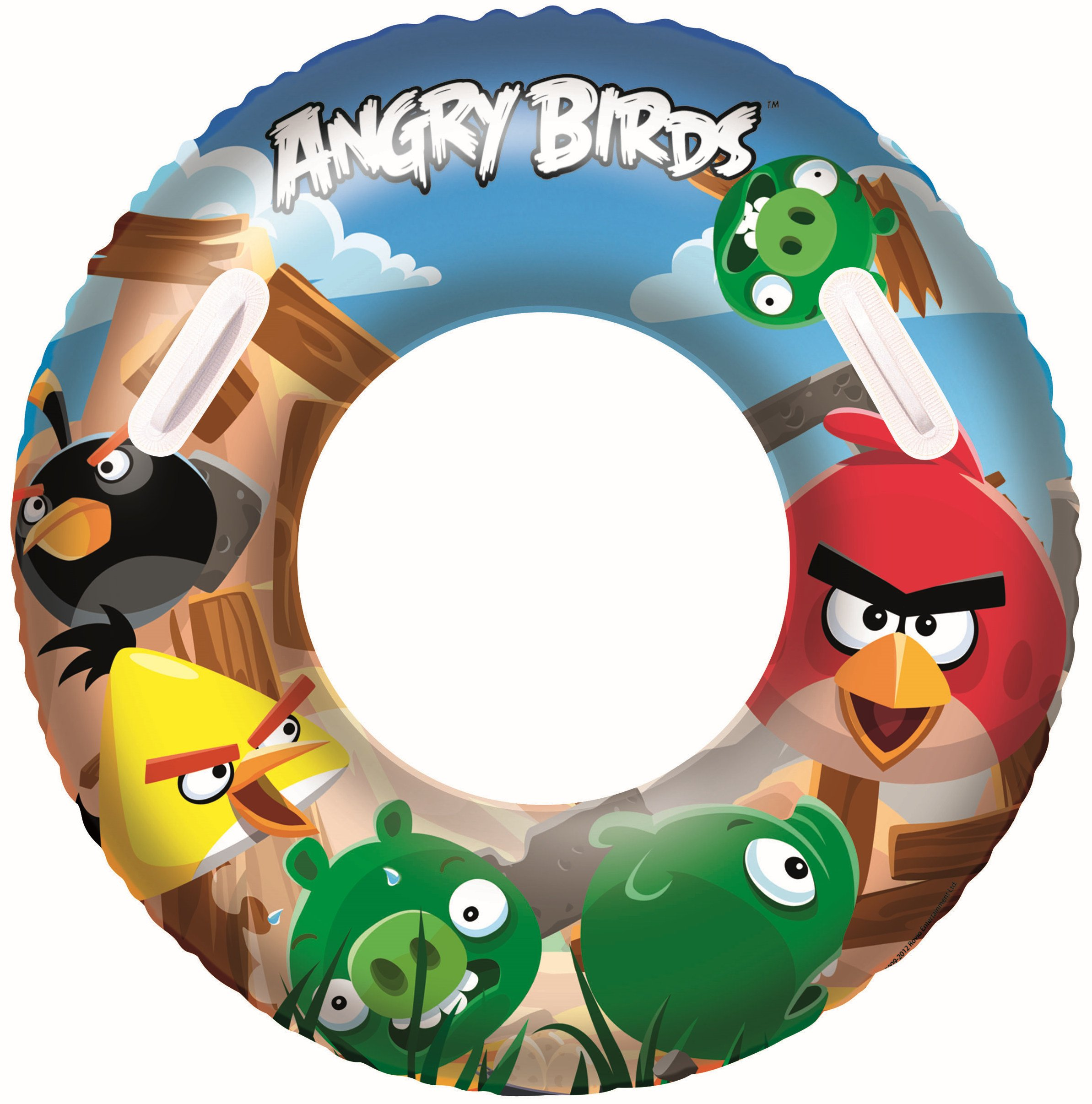 Angry Birds Inflatable Pool Swim Ring by Bestway
