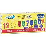 The Toy Company Creathek Magnet Zahlen und Zeichen, 48-teilig