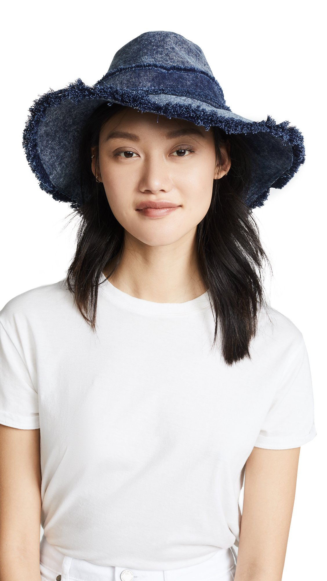 Eugenia Kim Women's Jordana Denim Hat, Denim, One Size