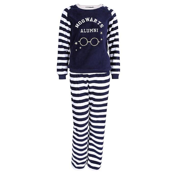 Pijama azul marino de forro polar HARRY POTTER: Amazon.es: Ropa y accesorios
