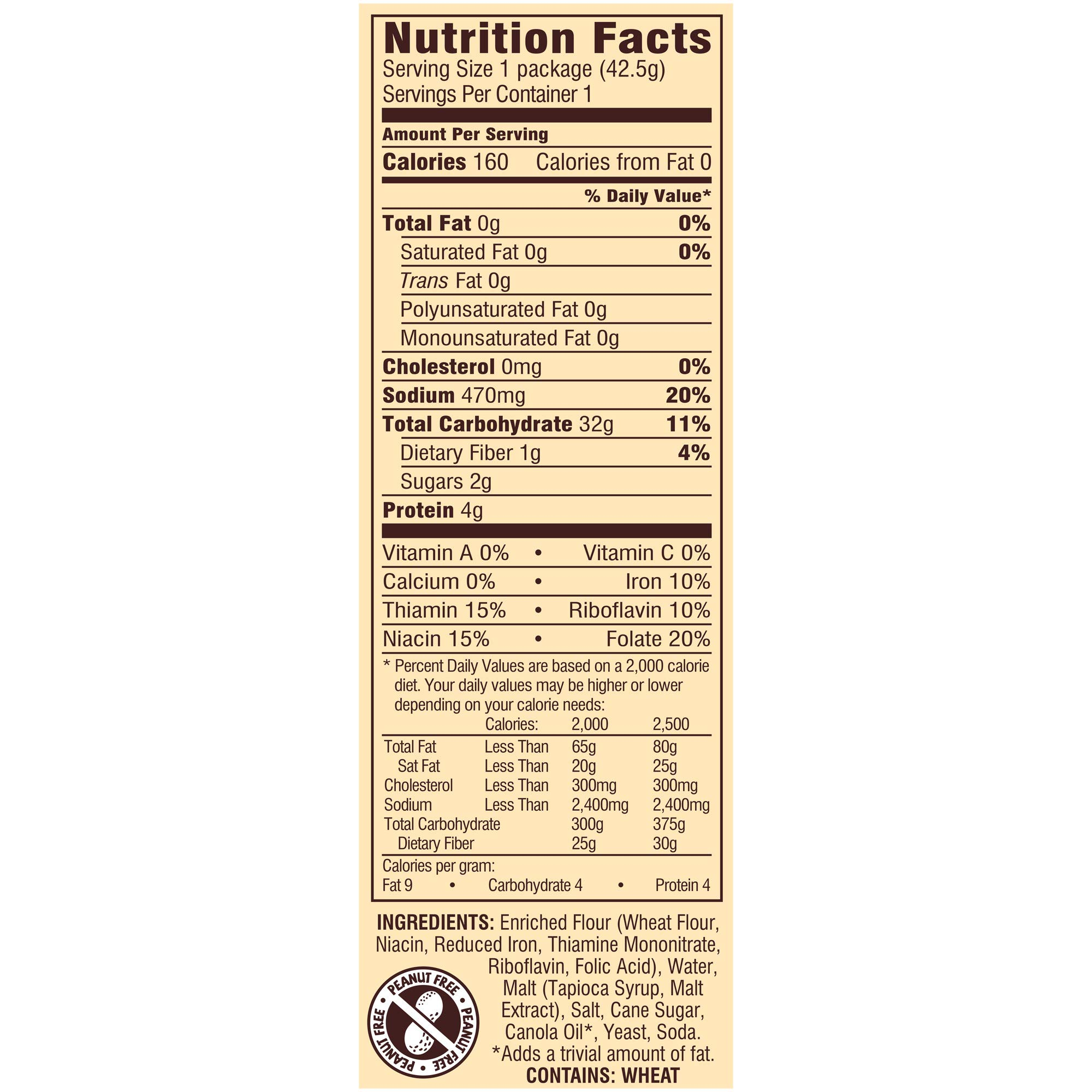 Snyder's of Hanover Pretzels, Thins, Single-Serve 1.5 Ounce (Pack of 60) by Snyder's of Hanover (Image #4)