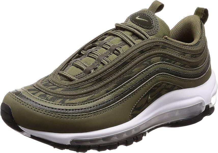 the best attitude 1a99a 7c9f8 Nike Scarpe Uomo AIR Max 97 AOP AQ4132.200 (40.5-200 Medium  Olive-Sequoia-Black) Amazon.co.uk Shoes  Bags
