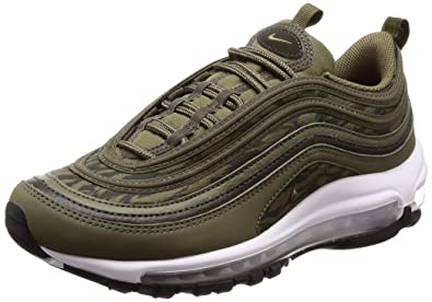 huge selection of 7fde3 48545 Amazon.com | Nike Air Max 97 AOP Men's Shoes Medium Olive ...