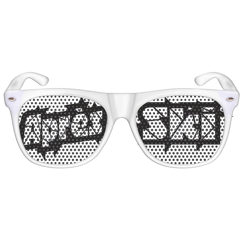 COOLEARTIKEL Apr/ès-Ski Partybrille Spa/ßbrille mit Motiv Apr/ès-Ski lustiges Winter-Accessoire f/ür die Ski-Piste versch. Designs