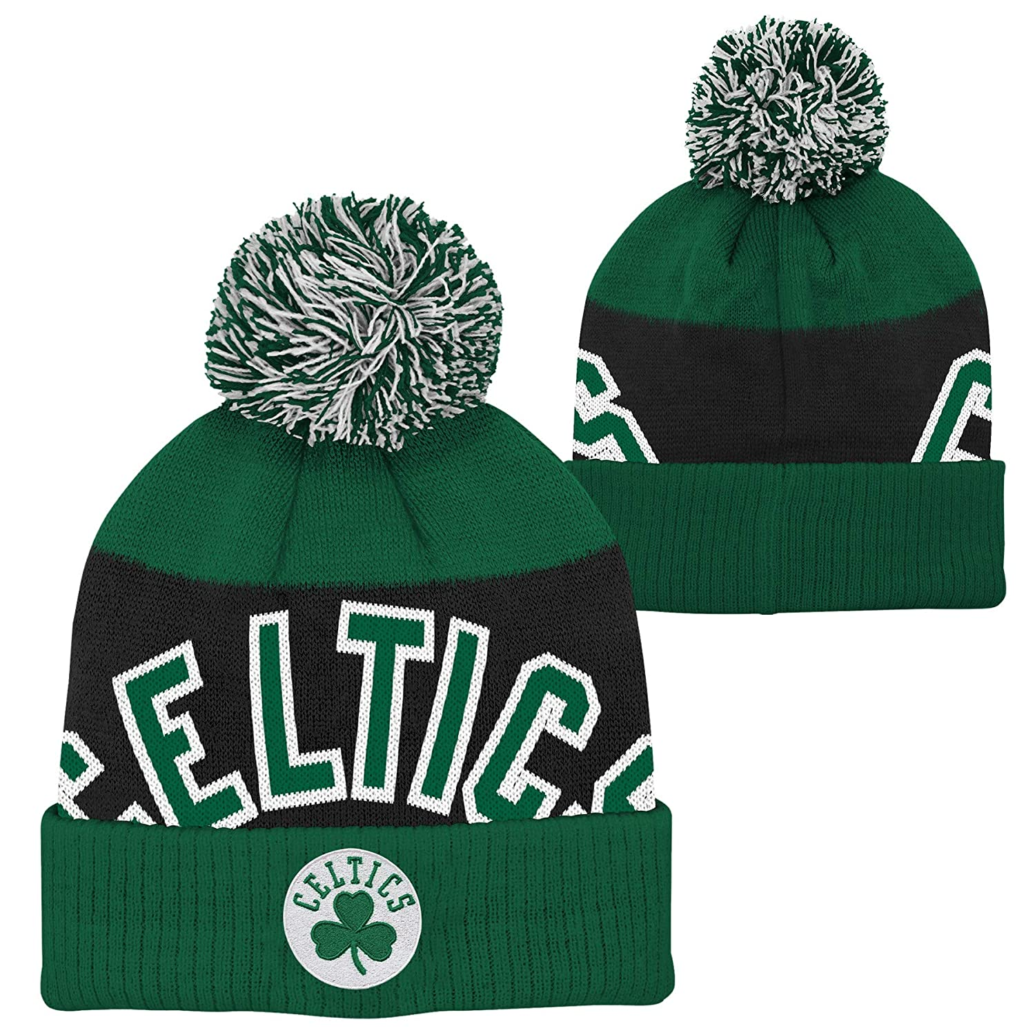 Outerstuff Boston Celtics Youth Snowball Winter Hat