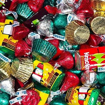 bulk christmas chocolates hersheys miniatures kisses and reeses christmas assortment 5 - Bulk Christmas Candy
