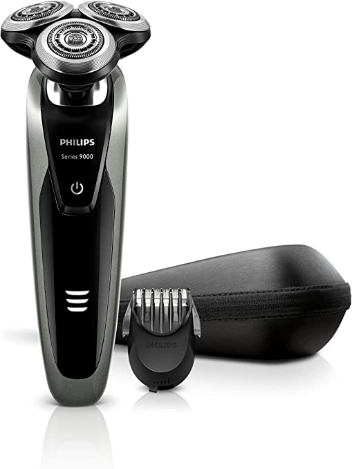 Philips SHAVER Series 9000 S9161/42 Negro, Gris - Afeitadora (Negro, Gris, AC/batería, Ión de litio): Amazon.es: Salud y cuidado personal