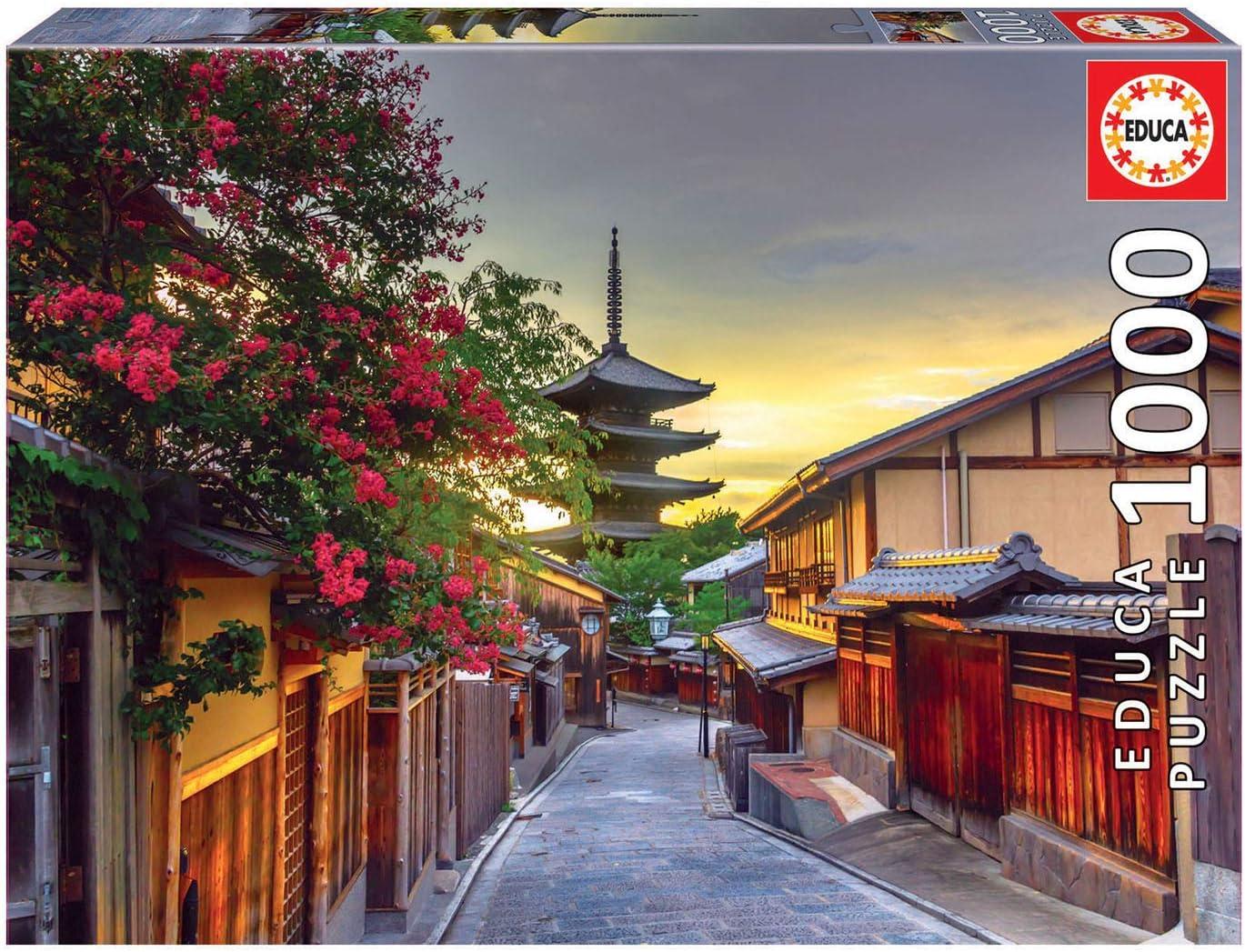 Educa Puzzle 1.000 piezas, Pagoda Yasaka, Kioto, Japón, color variado, 1000 (17969)