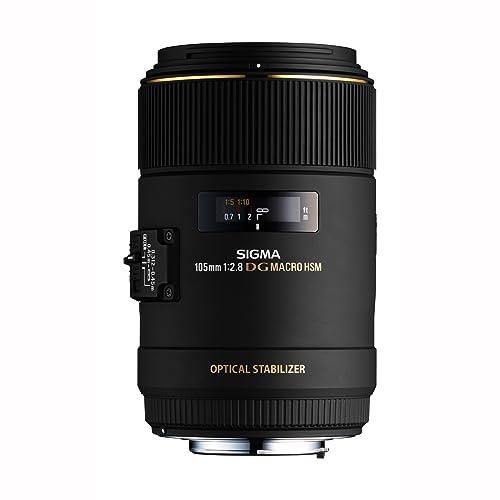 Sigma 105mm f/2.8 EX DG OS HSM Macro Lens Canon DSLR Cameras