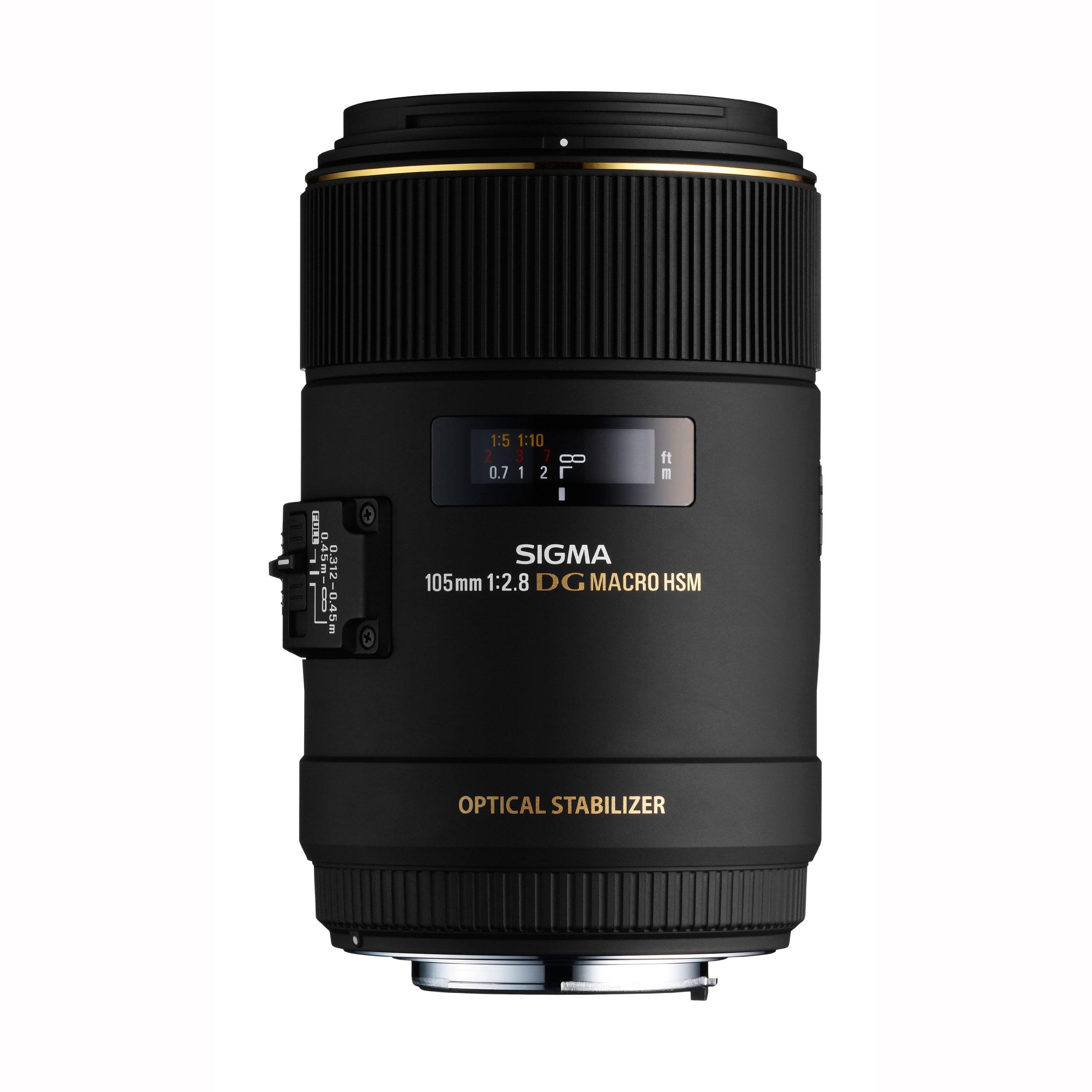 Sigma 105mm f/2.8 EX DG OS HSM Macro Lens Canon DSLR Cameras product image