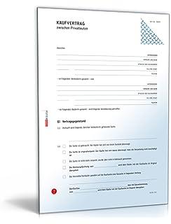 Kaufvertrag küche pdf  Kaufvertrag Küche - Vertrag zum Verkauf einer Einbauküche unter ...