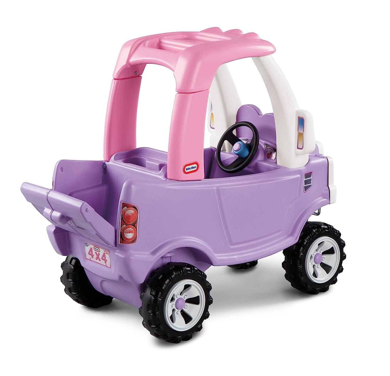 amazoncom little tikes princess cozy truck ride on toys games