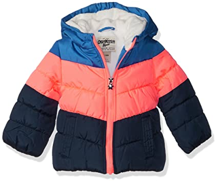c8023376d Amazon.com  OshKosh B Gosh Girls  Perfect Colorblocked Heavyweight ...