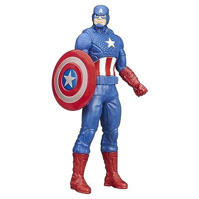 Hasbro Marvel Captain America Figure (15cm): Sports & Outdoors