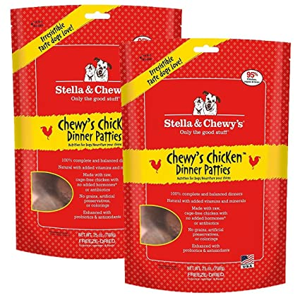 Stella Chewys Chicken Dog Food Dinner 25 Ounce 2 Pack Pet