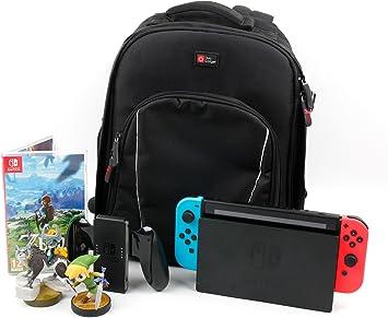 DURAGADGET Mochila Acolchado para Nintendo Switch (Console ...