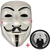 Anonymous Mask Plus Sticker
