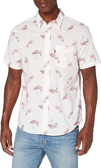 Levis S/S Sunset 1 Pkt Standrd Camisa para Hombre: Amazon.es: Ropa y accesorios