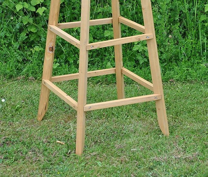Selection GFH801 - Obelisco de madera para jardín (1, 9 m): Amazon ...