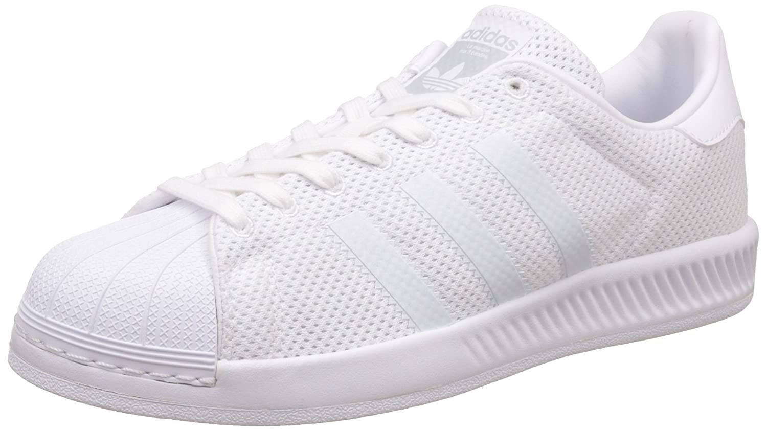 bd870ff308309d adidas Originals Men s Superstar Bounce Ftwwht Sneakers - 10 UK India  (44.67 EU)  Buy Online at Low Prices in India - Amazon.in