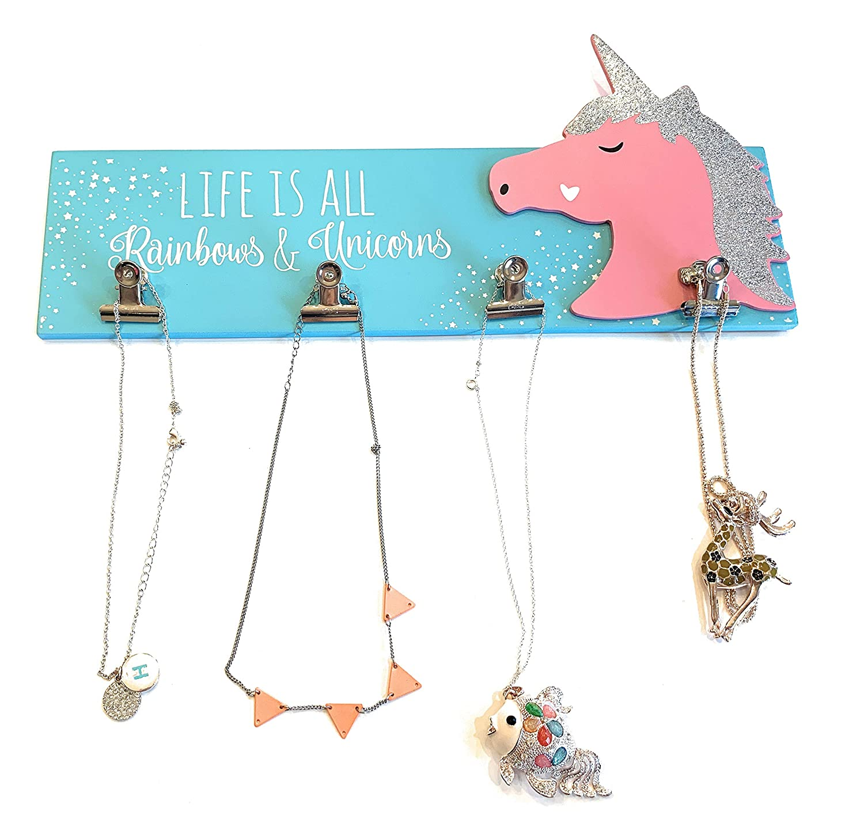 Amazon.com: Decoración de dormitorio de unicornio para niñas ...