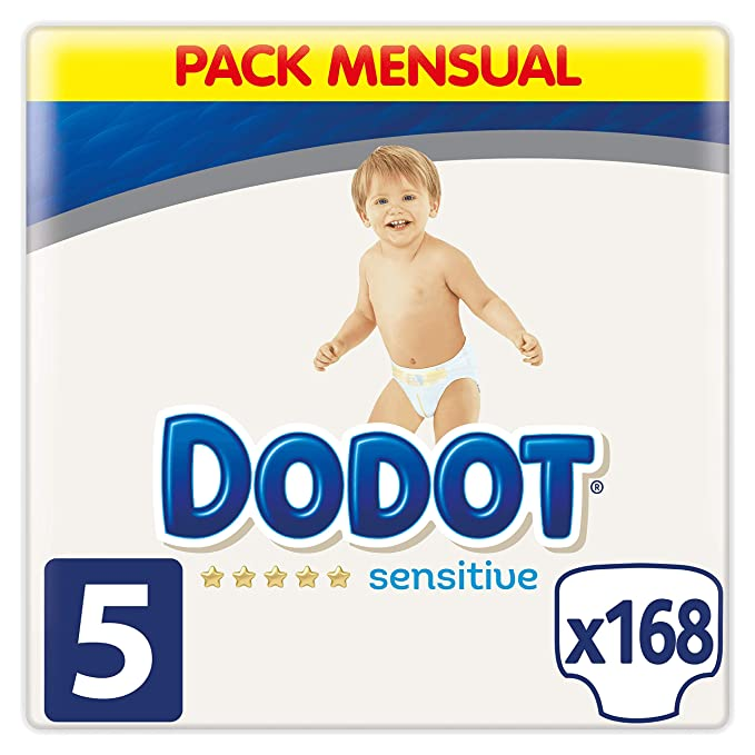 Dodot Sensitive Pañales Talla 5