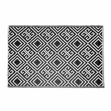 Homescapes Tapis D Exterieur Rectangulaire A Motif Geometrique