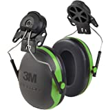 3M PELTOR Ear Muffs, Noise Protection, Hard Hat Attachment, NRR 21 dB, Construction, Manufacturing, Maintenance, Automotive,
