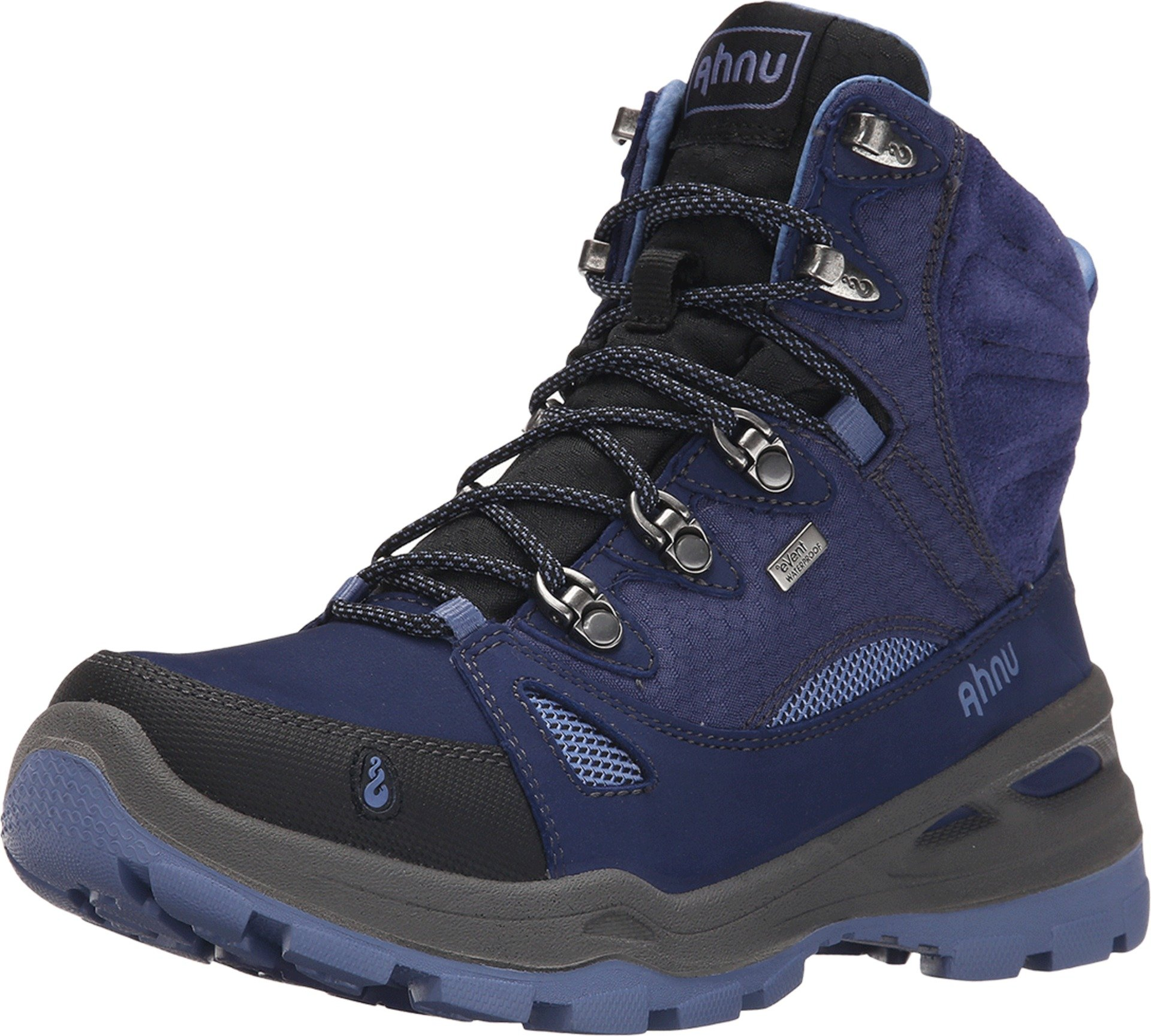 Ahnu Women's North Peak Event Backpacking Boot, Midnight Blue, 8.5 M US