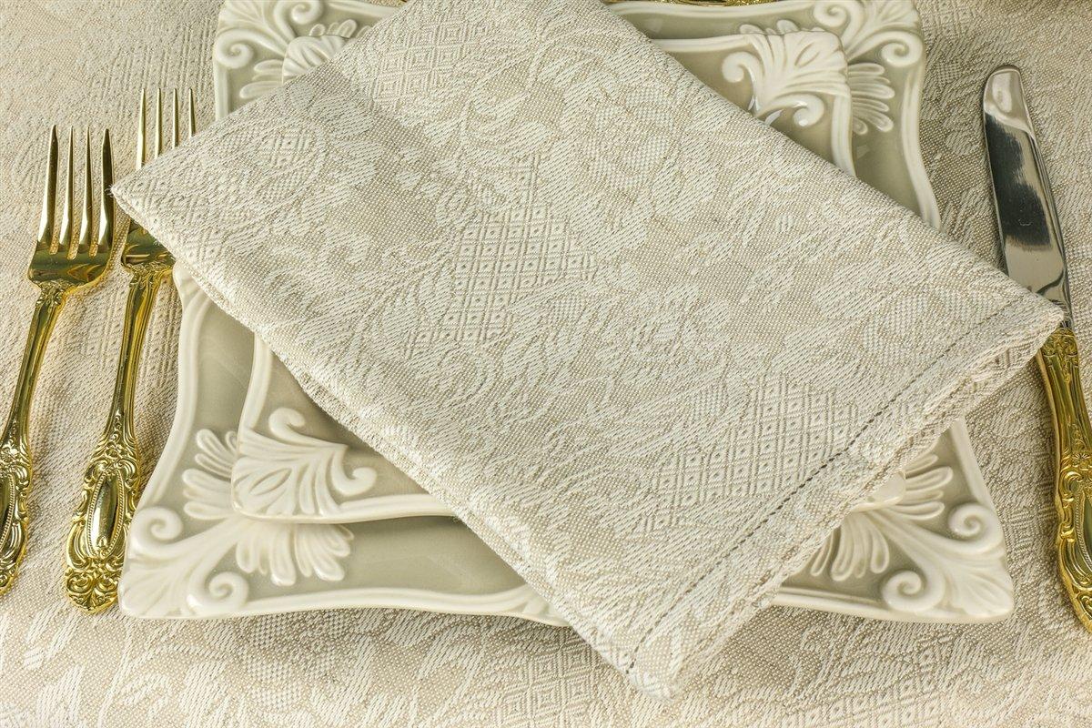 Tessitura Pardi Botticelli Natural Linen Napkins (Set of 6) 20'' x 20''