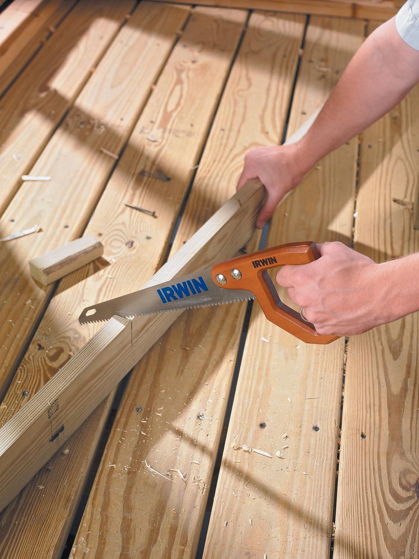 Irwin 2014200 Standard Utility Saw with Tri-Ground Teeth and Wood Handle