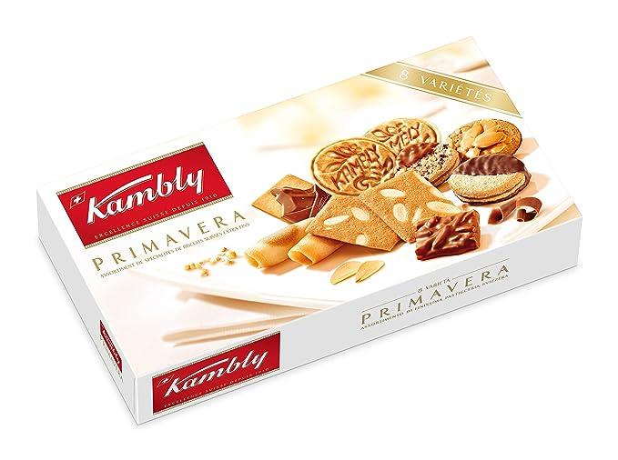 Kambly Surtido Galletas Suizas Primavera - 2 Paquetes de 175 gr - Total: 350 gr