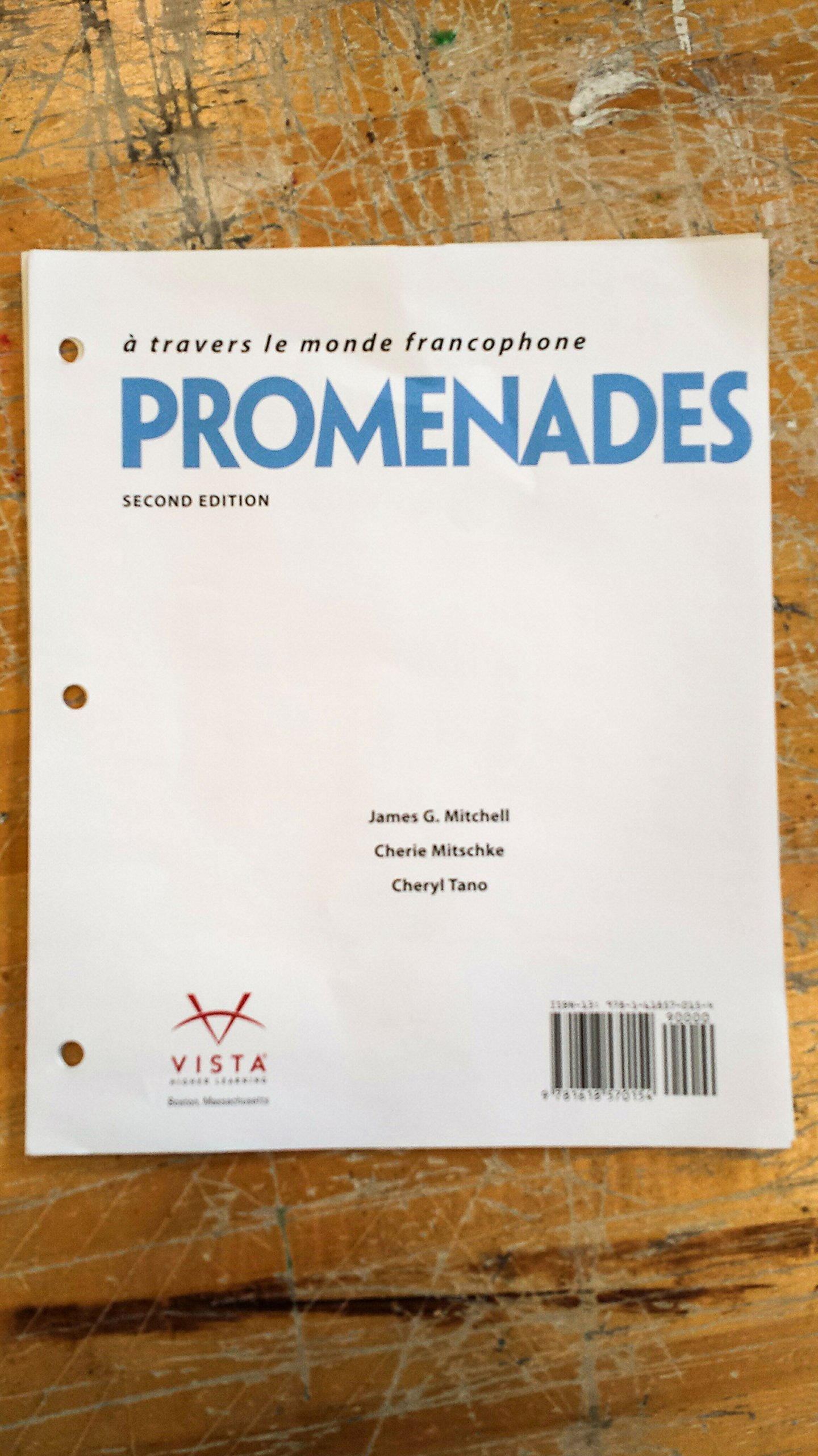 Promenades 2nd loose leaf student textbook text only no code promenades 2nd loose leaf student textbook text only no code james g mitchell cherie mitschke cheryl tano 9781618570154 amazon books fandeluxe Gallery