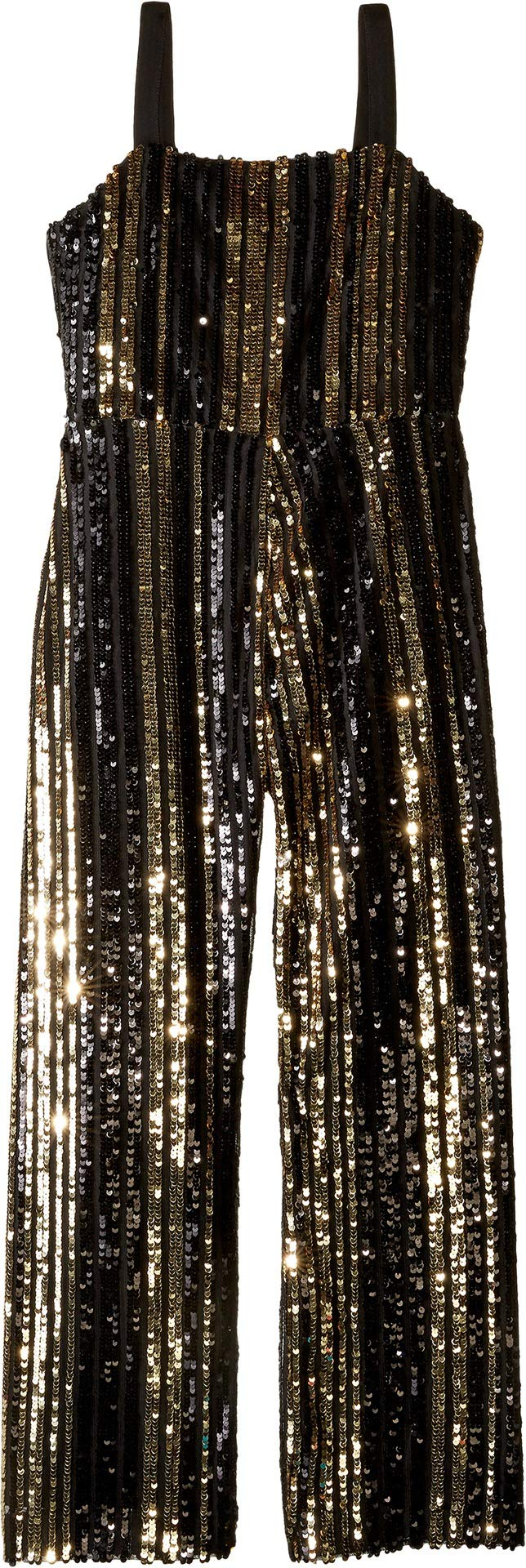 Bardot Junior Girl's Illy Sequin Jumpsuit (Big Kids) Black 16 by Bardot Junior (Image #1)