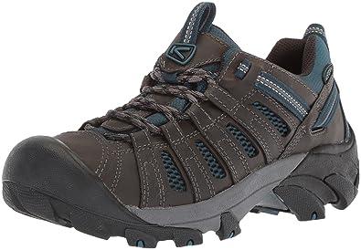 e038a5dbfd9 Keen Men's Voyageur-M Hiking Shoe, Alcatraz/Legion Blue, ...