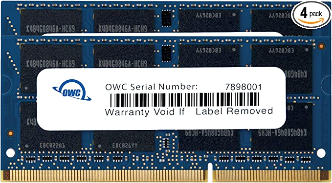 Certified Refurbished 4x8GB PC3-12800R 1600MHz DDR3 ECC Registered Memory Kit for a Supermicro X9DRL-7F Server 32GB