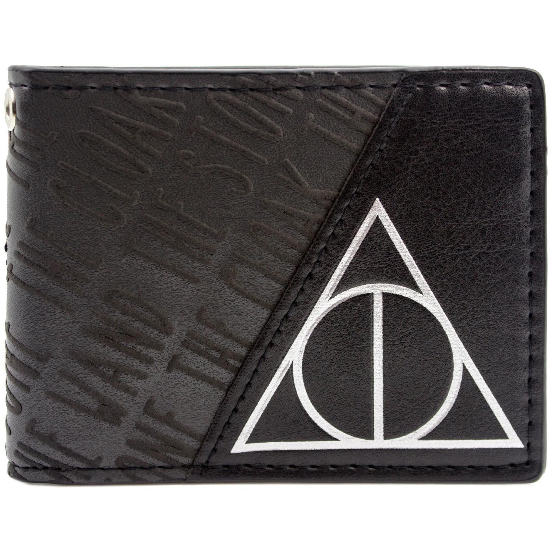 Cartera de Warner Bros Harry Potter Deathly Hallows Negro 27319