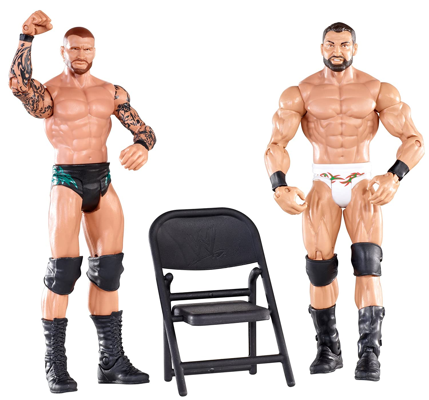 amazon com wwe battle pack randy orton vs mason ryan figure 2